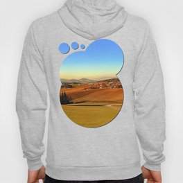 Picturesque panorama of countryside life | landscape photography Hoody