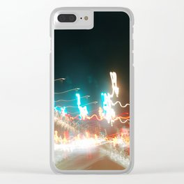 lights lights lights yea Clear iPhone Case