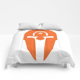 Changepoint Spartan Logo Comforters