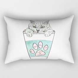 Cats & coffee Rectangular Pillow