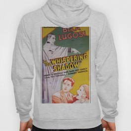 Vintage Movie Posters, The Whispering Shadow Hoody