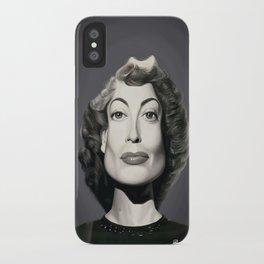 Joan Crawford iPhone Case