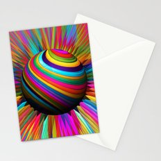 a world of color Stationery Cards