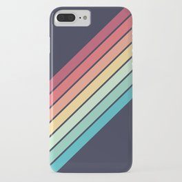 Lembona - Classic 70s Vintage Style Retro Summer Stripes iPhone Case