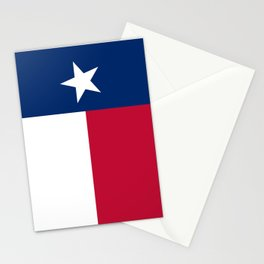 State flag of Texas, banner version Stationery Cards