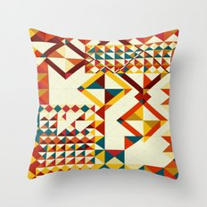 Playing puzzle Throw Pillow
