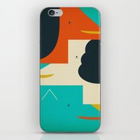 dogs iPhone & iPod Skins featuring Dogs by Nahyun Lee