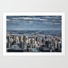 New York Skyline 5 Art Print