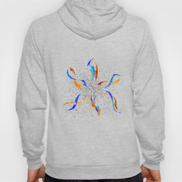 Efenissium - space dolphins Hoody