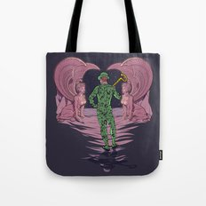 Riddled Tote Bag
