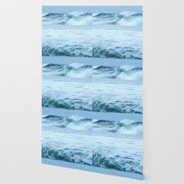 Rolling Green Surf Wallpaper