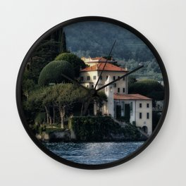 Villa del Balbianello - Lake Como Wall Clock