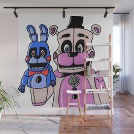 Funtime Freddy & BB Wall Mural