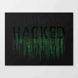 HACKED Canvas Print