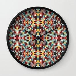 Kaleidoscope Craziness Wall Clock
