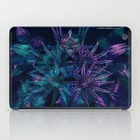 outer space iPad Cases featuring Outer Space Flowers.. by Cherie DeBevoise