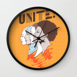 UNITE! Wall Clock
