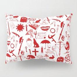 Buffy Symbology, Red Pillow Sham