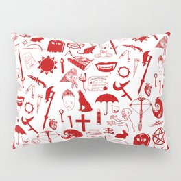 Buffy Symbology, Red Pillow Sham