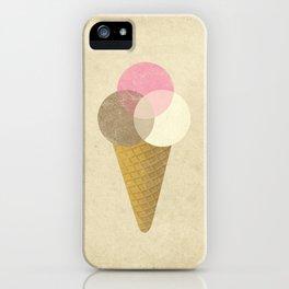 Ice Cream Venndor iPhone Case