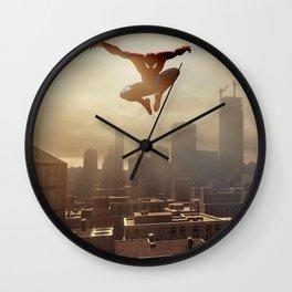 Spider-man New York #1 Wall Clock