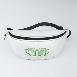 Pinch Me St Patrick's Day Beer Festival Clover Irish Ireland Gift Fanny Pack