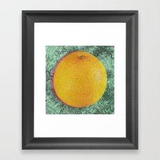 Nature's Thumbprint Framed Art Print