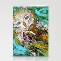 hedwig Stationery Cards featuring Hedwig by Karen Tarlton