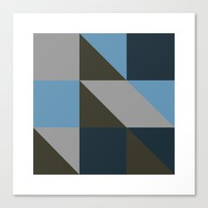 #149 United shapes of geometry – Geometry Daily Canvas Print