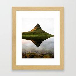 Kirkfull Reflection Framed Art Print