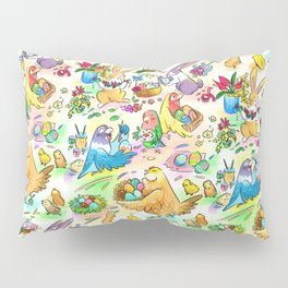 Easter egg party Pillow Sham