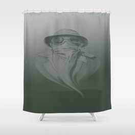 Ghost of Gonzo Shower Curtain