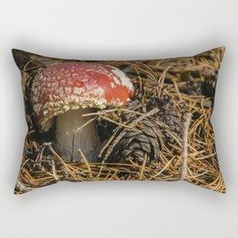 Red forest #1 Rectangular Pillow
