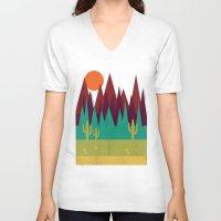 arizona V-neck T-shirts featuring Arizona by Kakel