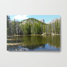 Nymph Lake Serenity Metal Print