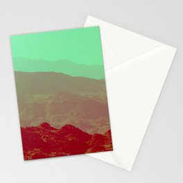 Palm Springs Mountains II Stationery Cards