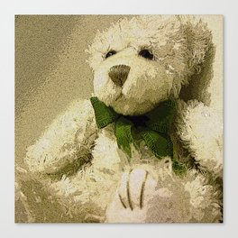Daddy's Gift Teddy Bear Print Canvas Print