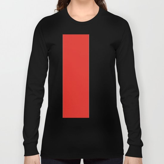 rayures blanches et rouges 7 Long Sleeve T-shirt