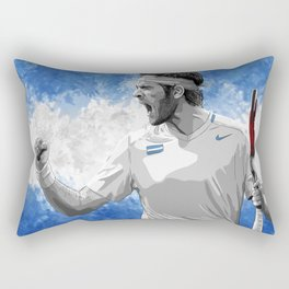 Juan Martin Del Potro Rectangular Pillow