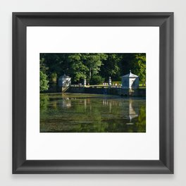 Studley Water Gardens Framed Art Print