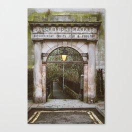 Stockbridge Market Gate Canvas Print