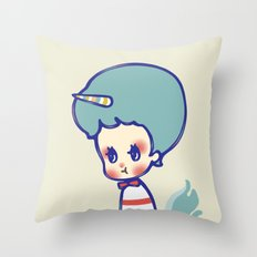 why are you angry? Throw Pillow