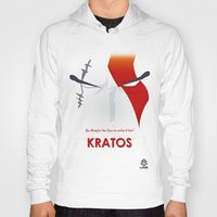 vector Hoodies featuring Vector Kratos by LoweakGraph