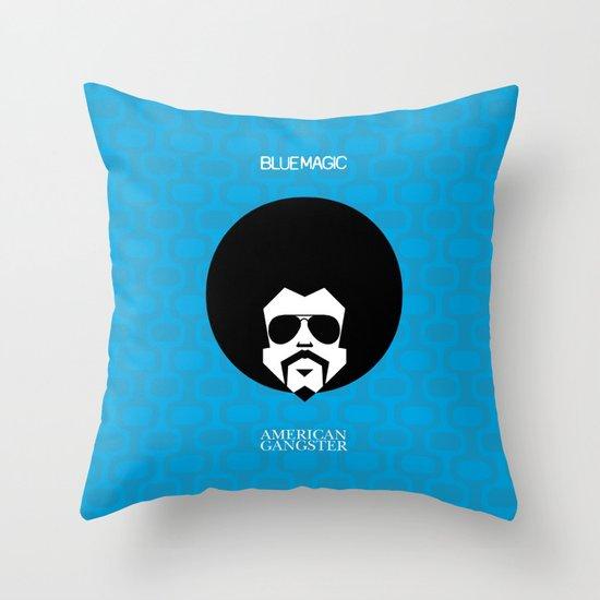 BlueMagic Throw Pillow