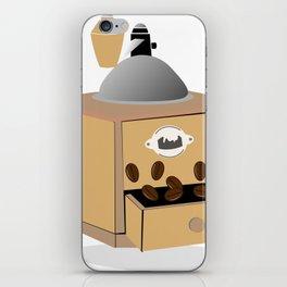coffee grinder iPhone Skin