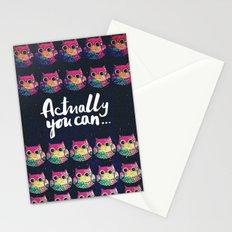 owl-22 Stationery Cards
