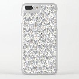 Goyard White Clear iPhone Case