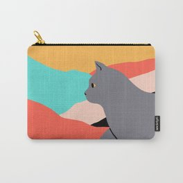 Cat (british) Carry-All Pouch