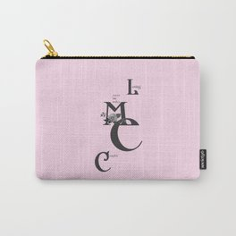 Love you to bits  #love #typography Carry-All Pouch