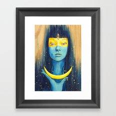 Wisdom of Luna Framed Art Print